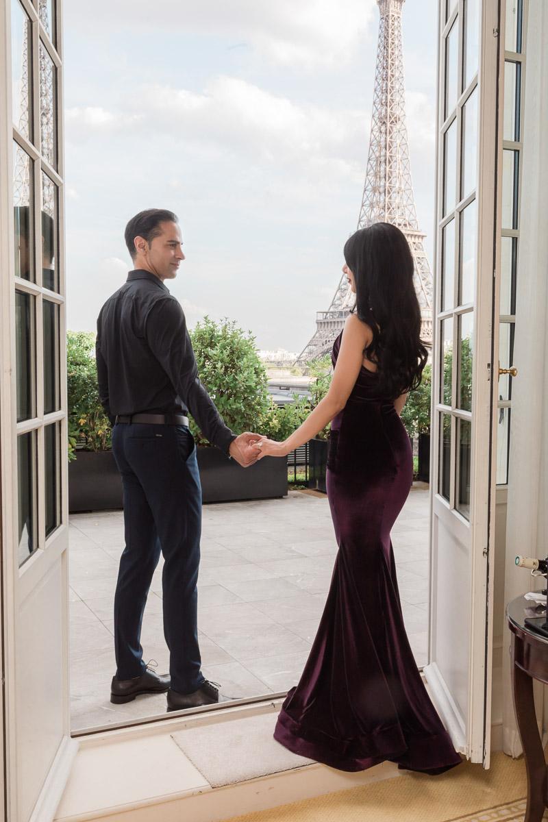 TINA & STEVEN-Shangri-La Hotel, Paris