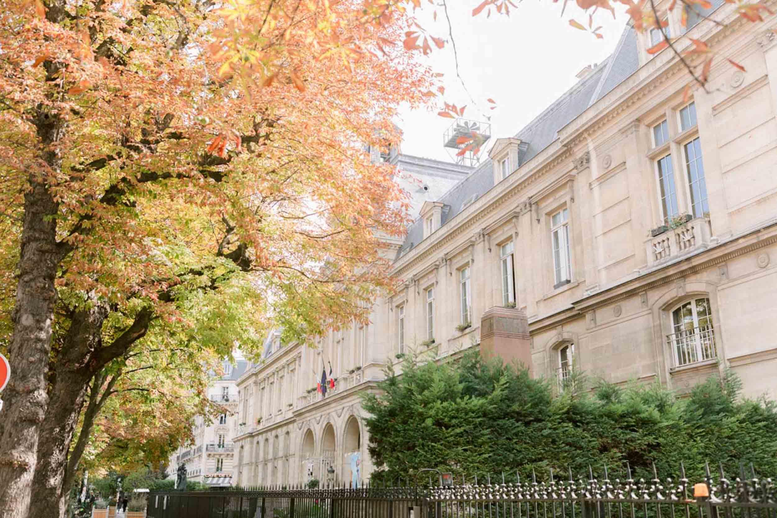 SARAH & AMINE-Mairie du XVIe