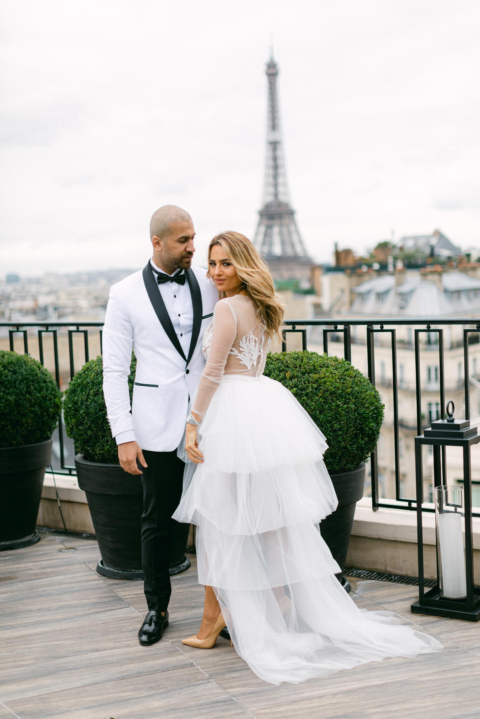 HAYA & AHMED-Four Seasons Hôtel George V Paris