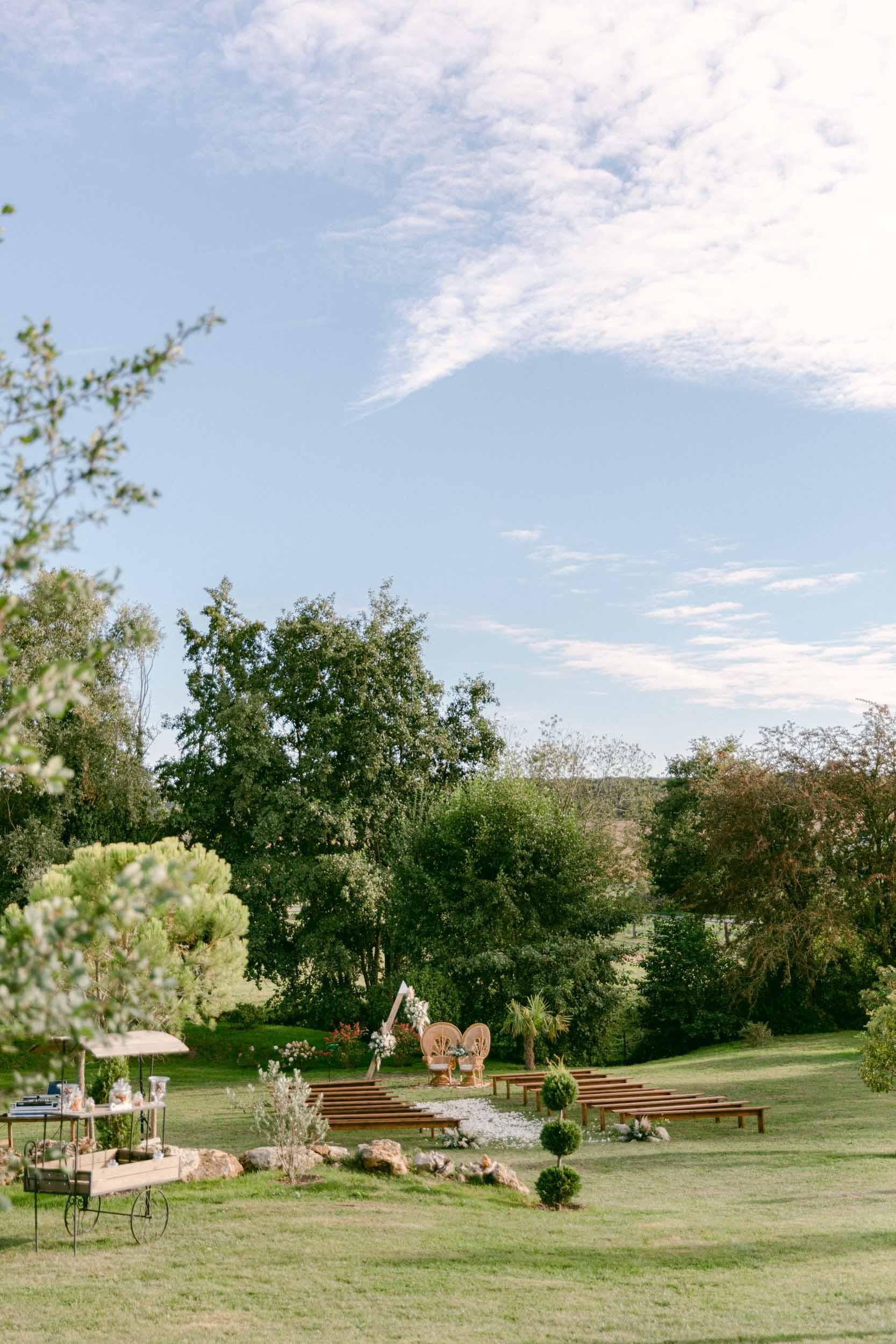 MOUNIA & THIBAULT-Domaine des Hirondelles